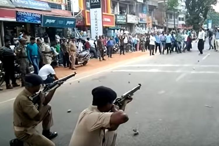 Jharkhand polices mock drill video gets shared as police shooting in Mangaluru