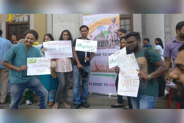 Focussed on development than on petty politics Bengaluru citizens vote in mock poll