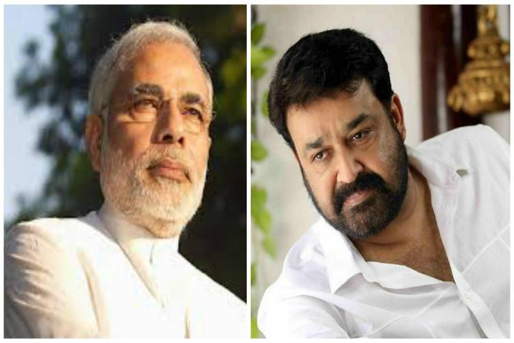 PM Modi writes to Mohanlal seeks help to make cleanliness mission a success