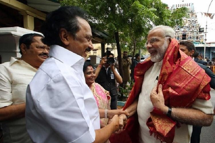 PM came for Kalaignar not politics Stalin denies calling off Black Day protest