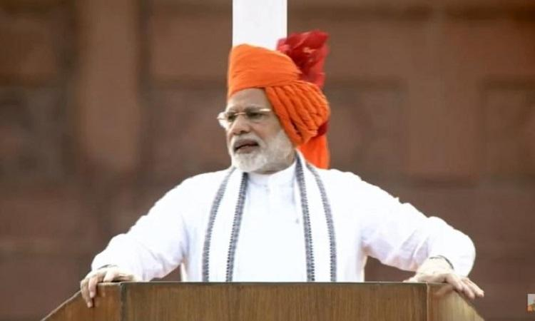 Manned space mission OROP triple talaq 10 things PM Modi focussed on in I-day speech