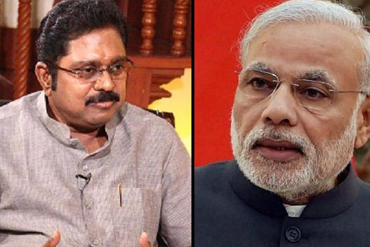 Pen is mightier than sword TTV Dhinakaran uses poem to lash out against BJP for AIADMK split
