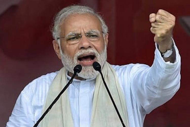 PM Modi lashes out at Karnataka govt over farm loan waiver calls it a cruel joke