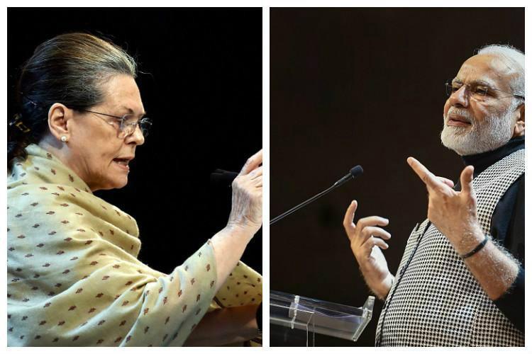 Modi Sonia face-off in Karnataka polls take potshots at each other