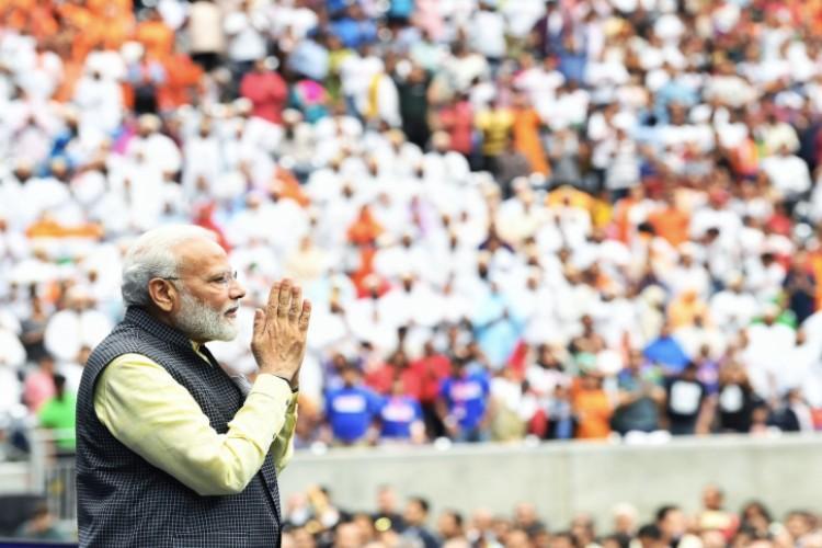 Narendra Modi addressed 50,000 Indian-Americans in Houston