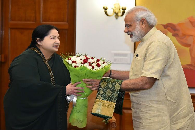 TN BJP conflicted after Jaya visits Modi