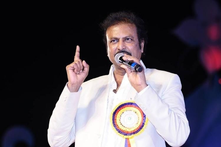 Actor-producer Mohan Babu given one year jail in cheque bounce case gets bail