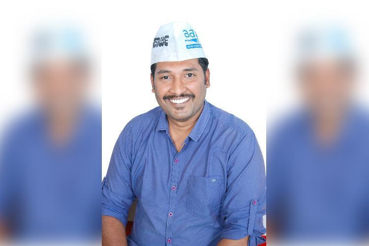 BJP responsible for Kaggadasapura Lake mess Bengalurus CV Raman Nagar AAP candidate