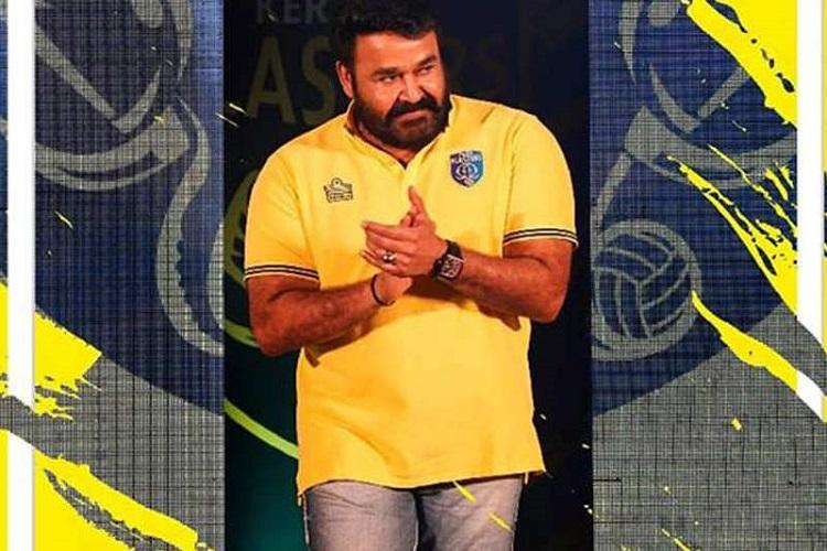 Mohanlal made brand ambassador for Kerala Blasters