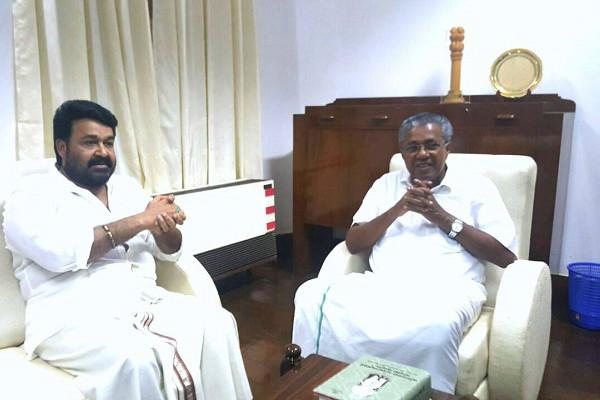 Mohanlals open letter and stirring podcast to Pinarayi on the woes of Kerala