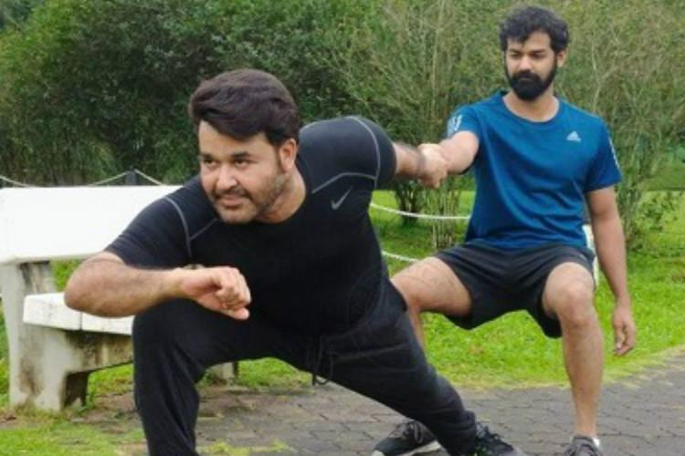 Mohanlal wows fans with his work-out photo