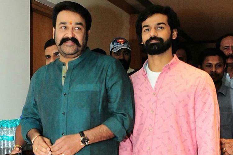 Mohanlal and Pranav
