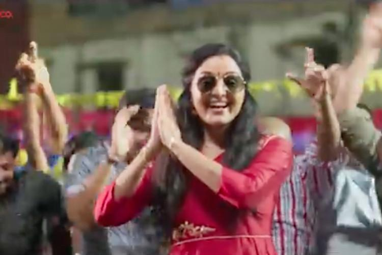 Recreating iconic Tonykuttan song New teaser of Manju Warrier starrer Mohanlal out