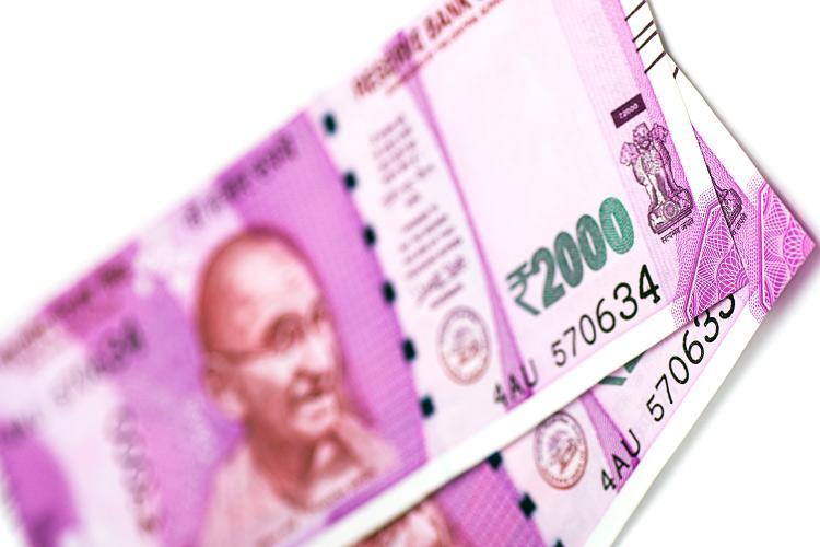 A representative image of the 2000 rupee note