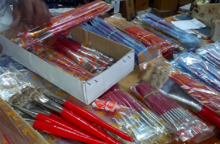 Wildlife officials seize 25000 painting brushes made using mongoose hair from Coimbatore shops