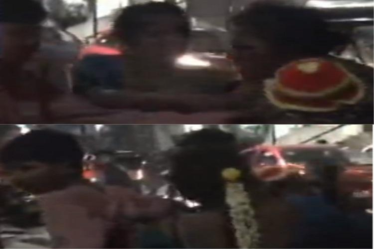 Mother throws baby on ground during quarrel with husband in Hyderabad