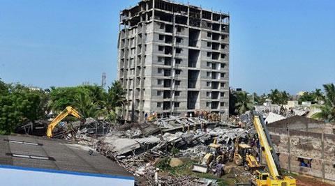Belief Tower in Chennais Moulivakkom razed two years after 61 died in building collapse
