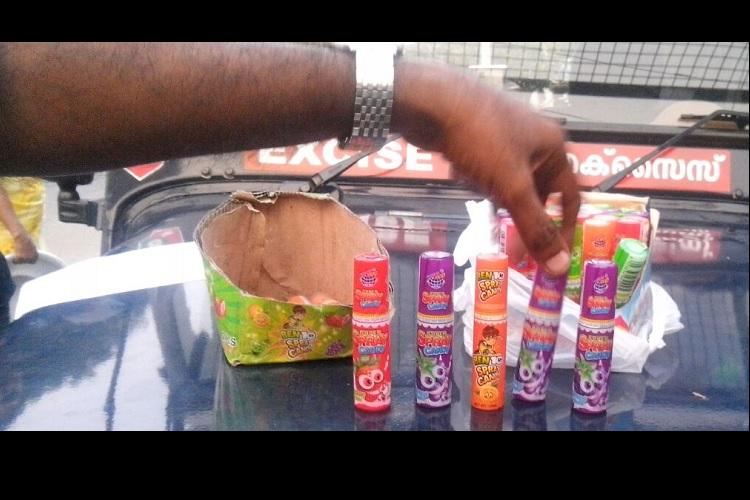 A new danger for Kerala children Addictive mouthsprays being sold in shops near schools