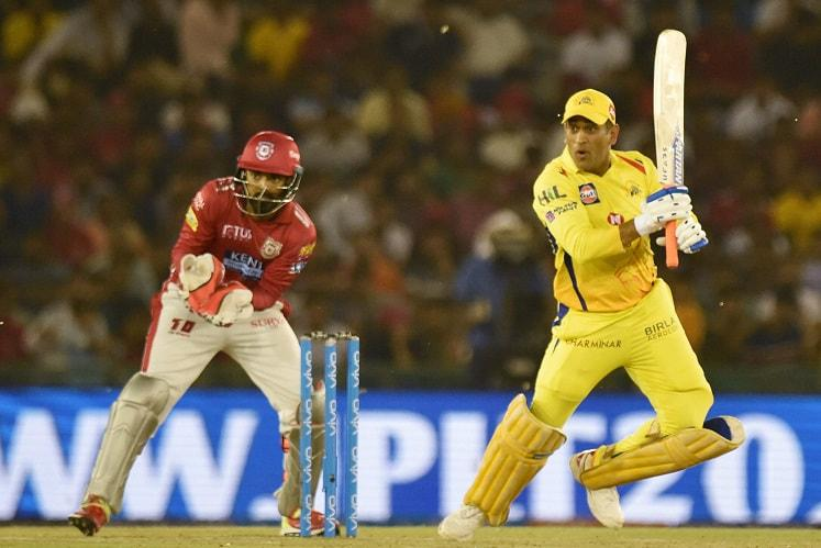 Despite Dhonis late heroics CSK handed first defeat of season by Kings XI Punjab