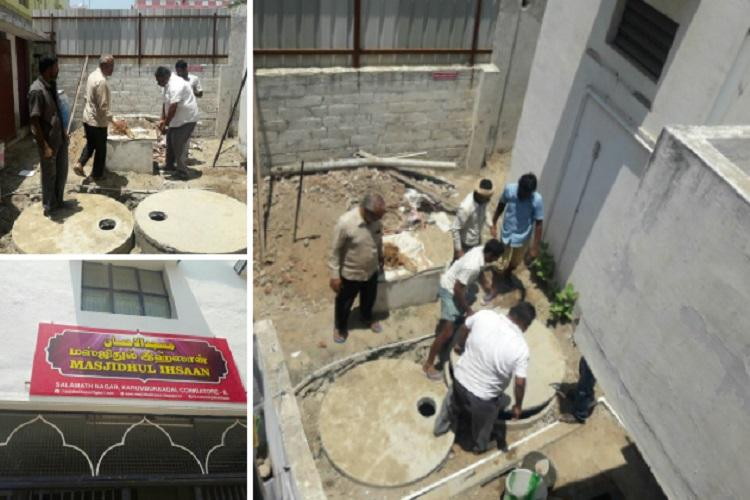 Heres a Coimbatore mosque that is re-using the ablution water to recharge groundwater