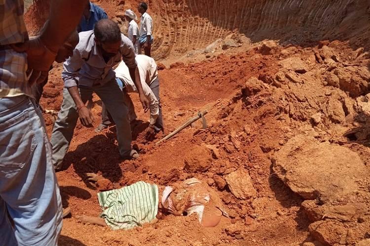 10 MGNREGA workers in Telangana killed in minor landslide at worksite