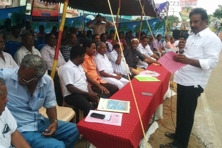 Greater Chennai unprepared for the monsoon worried residents stage hunger strike