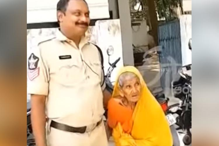 AP cops bid tearful adieu to 80-year-old woman who lived in station for 4 decades