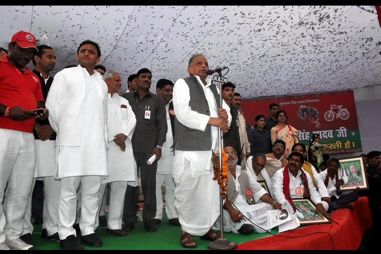 Less than six months ahead of UP polls SP rattled as ruling family power struggle intensifies