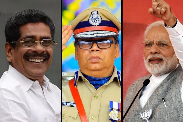 Cong accuses Kerala DGP Loknath Behera of whitewashing Modi-Shah slams Pinarayi