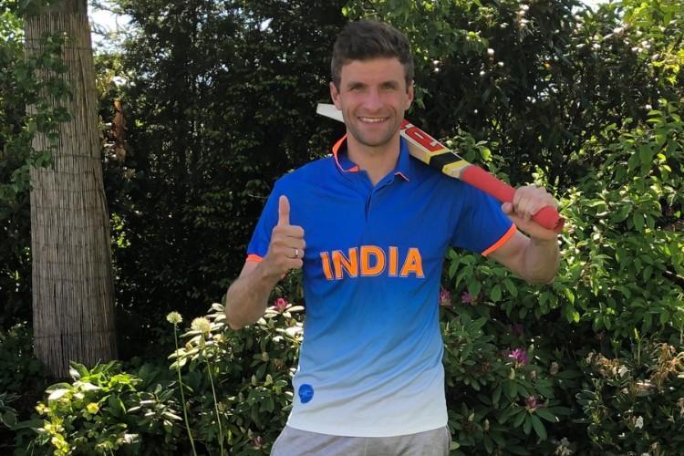 German football star wears India jersey to support Virat Kohli; captain responds