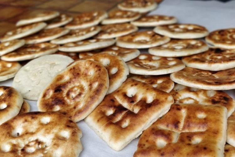 File photo of naans in the old city of Hyderabad