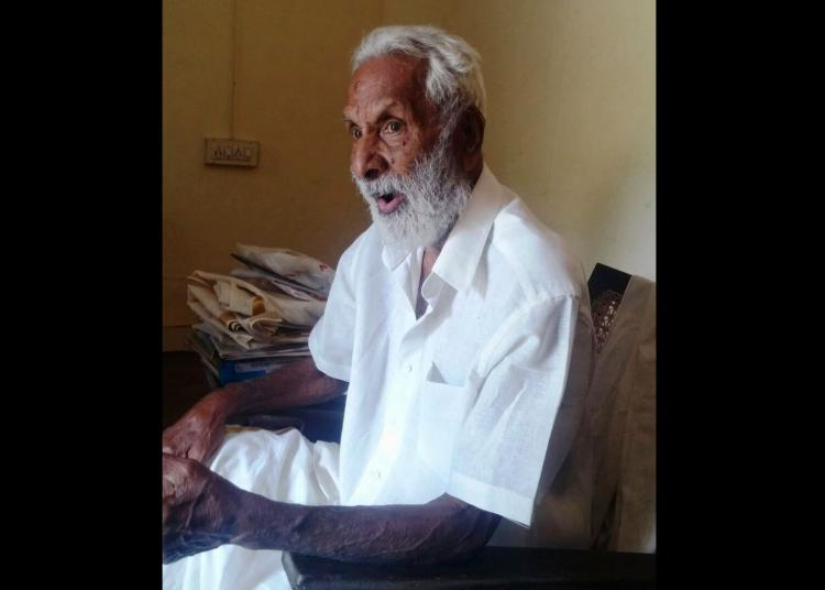 25 years later alumni trace Sanskrit teacher to find age has not defeated him
