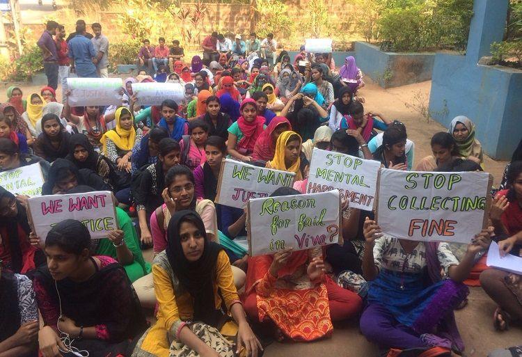Mangaluru college student attempts suicide over alleged harassment protests erupt