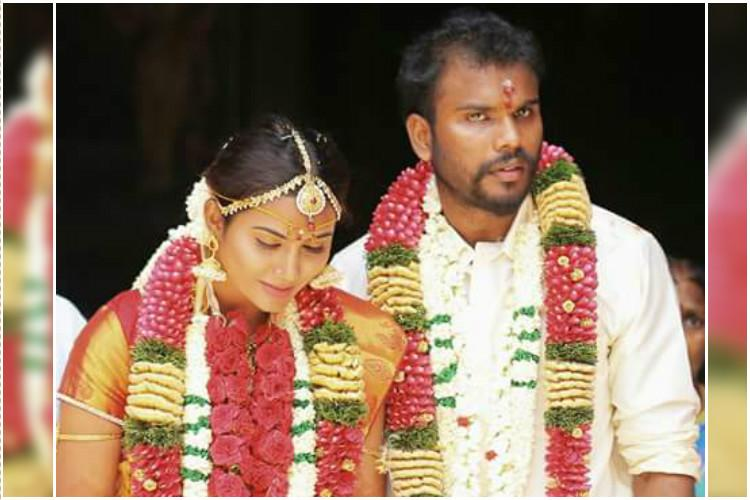 Tamil TV actor Myna Nandhinis husband commits suicide in Chennai