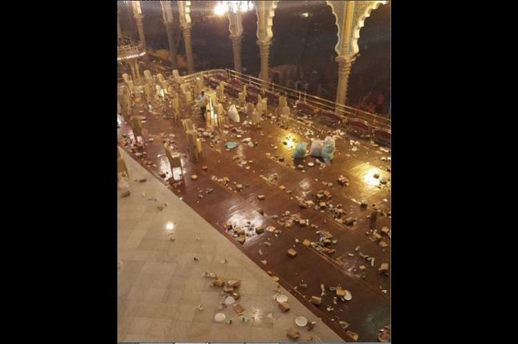 Is Mysuru Indias cleanest city Not if you look at Royal Durbars Dasara mess