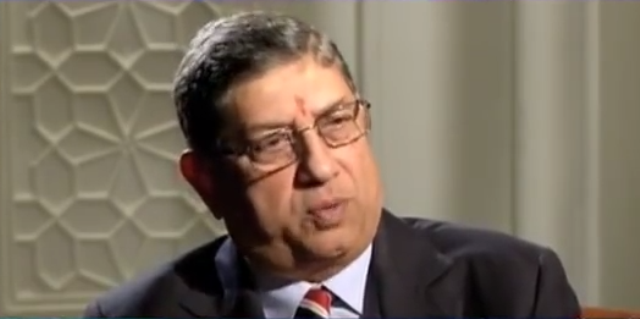 BCCI goofs up mixes N Srinivasans name in plea with another Srini