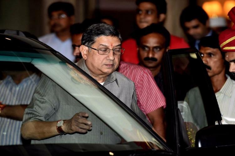 Jagan DA case Ex-BCCI head Srinivasan seeks exemption from court appearance