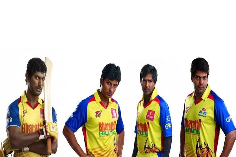 The names of Nadigar Sangam cricket teams are out here are the details