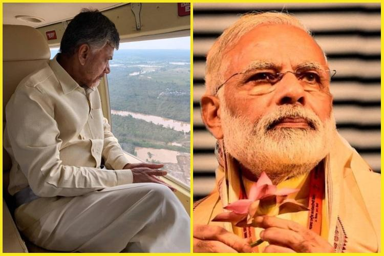 AP CM Chandrababu Naidu pens to PM for Titli relief measures