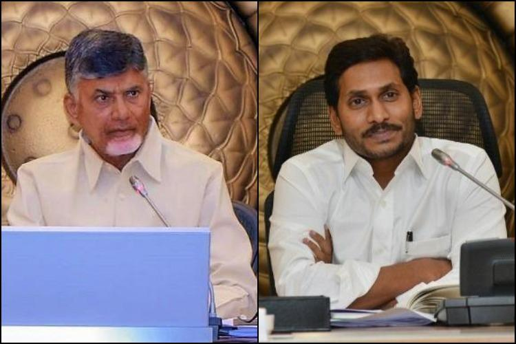 State govt ignored ISRO cautions Naidu writes to Jagan on Krishna floods