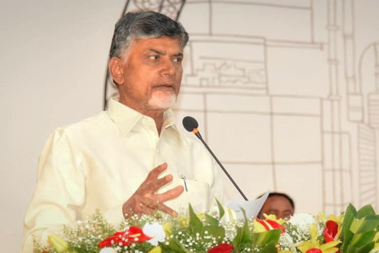 Why should we pay taxes to Centre when Andhra gets no funds CM Naidu asks