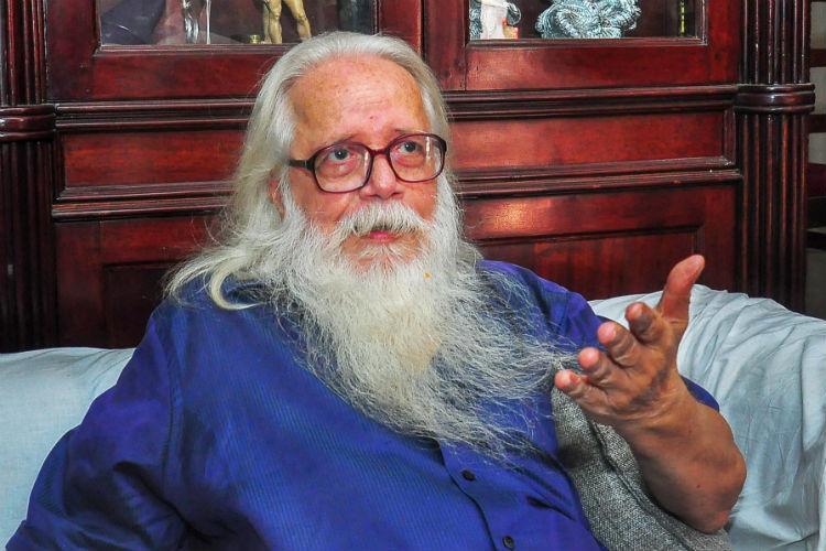 After a life of stress Kerala scientist Nambi Narayanan is a happy man