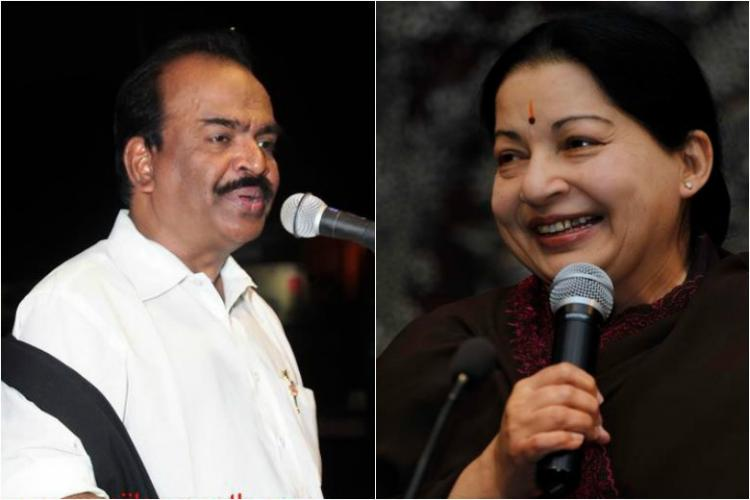 Why did Jayalalithaa fire Nanjil Sampath for insensitive comments or speaking out of turn