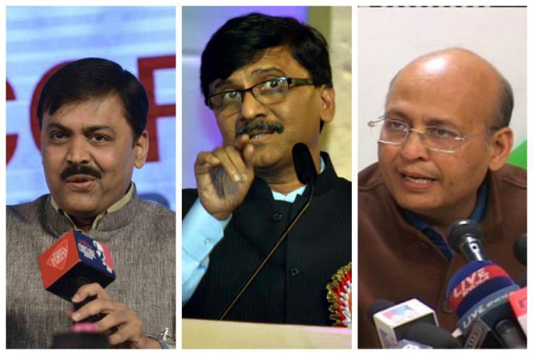Bharat mata ki jai BJP Sena criticize Darul Uloom for issuing fatwa Cong takes middle ground