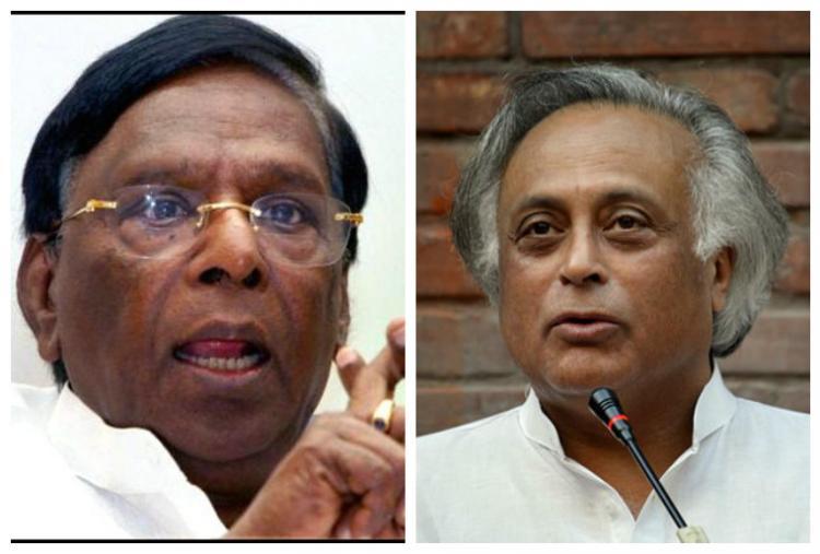 Congress vs Congress Narayanaswamy slams Jairam Ramesh on Jallikattu
