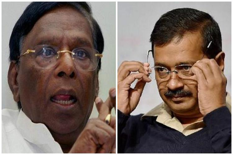 Puducherrys cause has been sacrificed for Congress partys enmity with Kejriwal