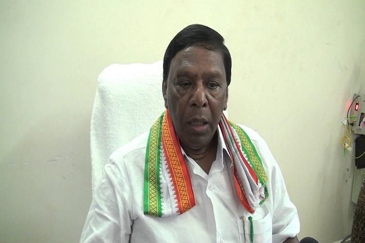 Narayanasamy to be sworn-in as Puducherry CM on Monday