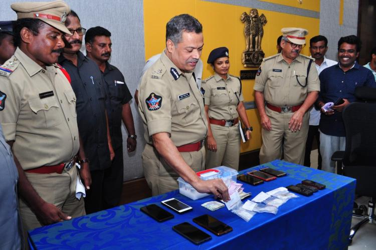 Vijayawada police bust interstate narcotics gang arrest 7
