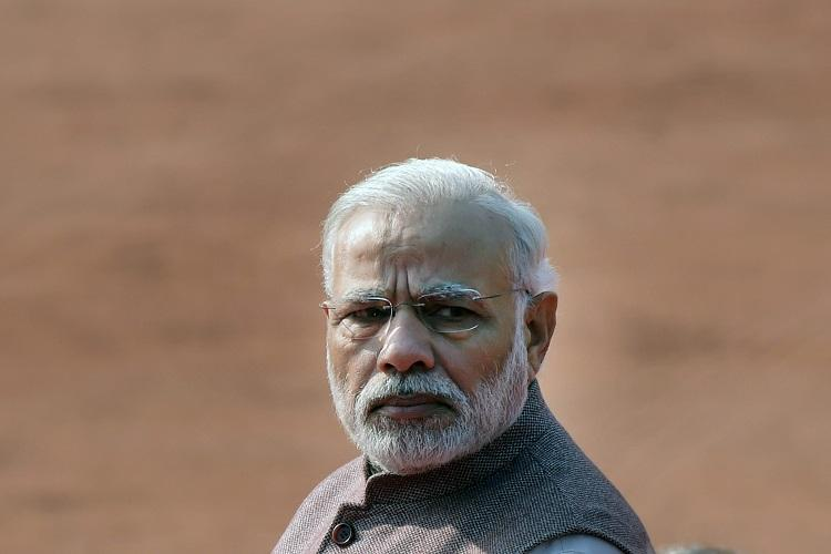 PM Modi extends greeting to Andhra on bifurcation day draws flak on Twitter