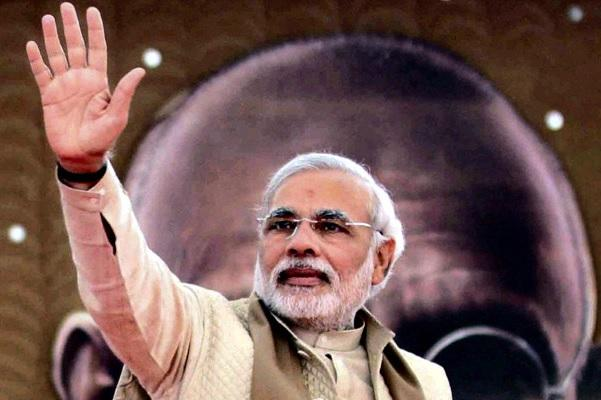 At two years PM Modi is seen but not heard and yet strongly approved
